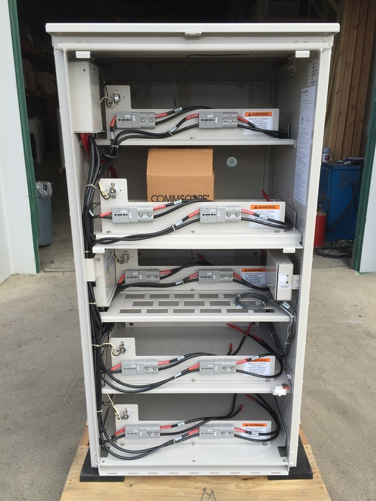 Commscope 60ec 24 Battery Cabinet Telecom Surplus Resources